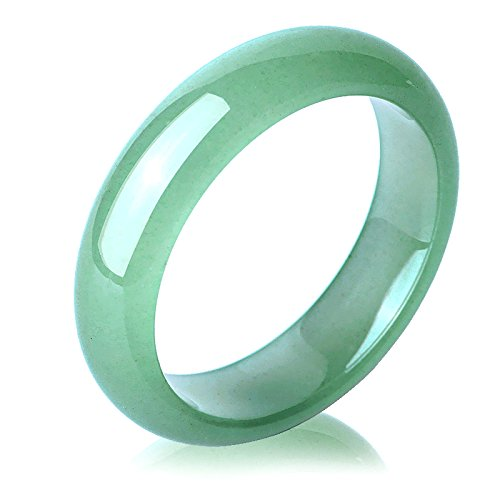 (Certificate) High Quality Natural Green DONGLING Stone Bracelets Fashion Round Bangles Gift for Women Stone Jewelry