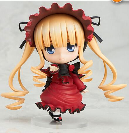 10cm Japanese anime figure Q version Rozen Maiden Nendoroid 364# Shin ku action figure collectible model toys for boys nendoroid cynthia and garchomp action figures toys anime collectible model 507