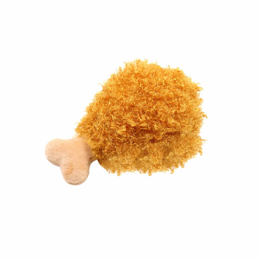 Pet Giocattoli Cane Peluche Giocattoli bacchetta hamburger patatine fritte gelato Squeak Chew Squeaker Kong Pet Puppy Giocattoli Per Cani Gatti Honden speelgoed