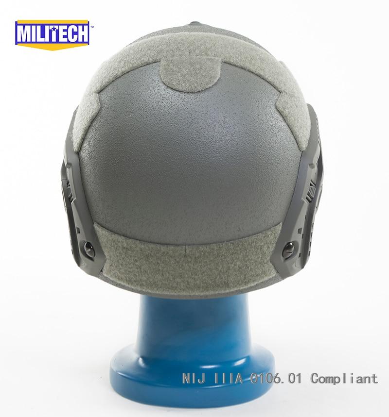 Gut Militech De Airframe Entlüftet Nij Iiia Konform Ballistischen Helm Video Kommerziellen Schutzhelm