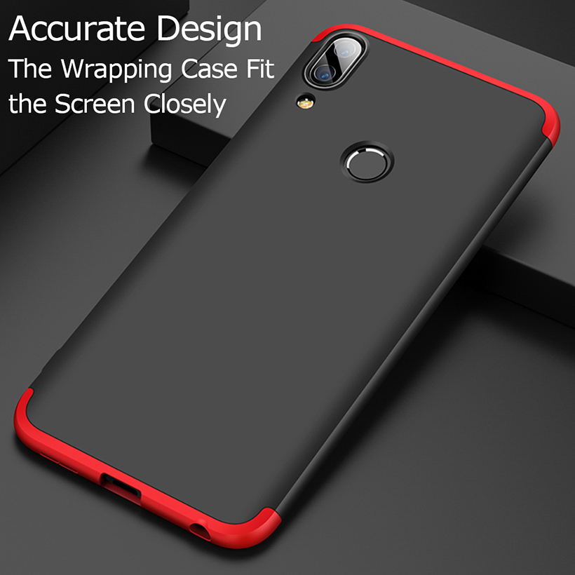 For ASUS ZenFone Max Pro M1 Case ZB602KL Phone Bumper Accessories Hard 360 Full Cover For Asus Zenfone Max Pro M2 Cases ZB631KL in Fitted Cases from Cellphones Telecommunications