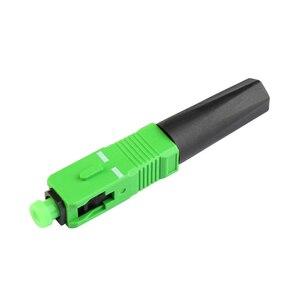 Image 3 - 100 ADET FTTH hızlı bağlantı Gömülü SC APC Fiber Optik Hızlı Bağlantı tek modlu SCAPC fiber optik konnektör Ücretsiz kargo
