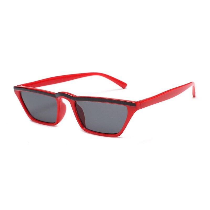 Neue Angekommene Retro Männer Kleinen Platz Rahmen Sonnenbrille Streifen Augenbraue Design Fashion Brille Gafas De Sol De Los Hombres L3 Exzellente QualitäT