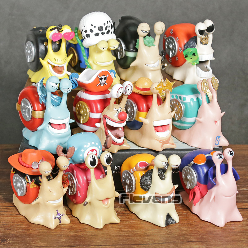 One Piece Den Den Mushi Telephone Sanji Law Zoro Brook Buggy Franky Luffy Nami Usopp Chopper