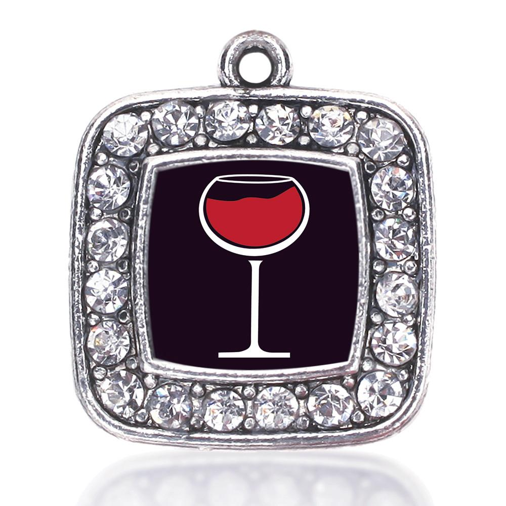 WINE LOVERS SQUARE CHARM
