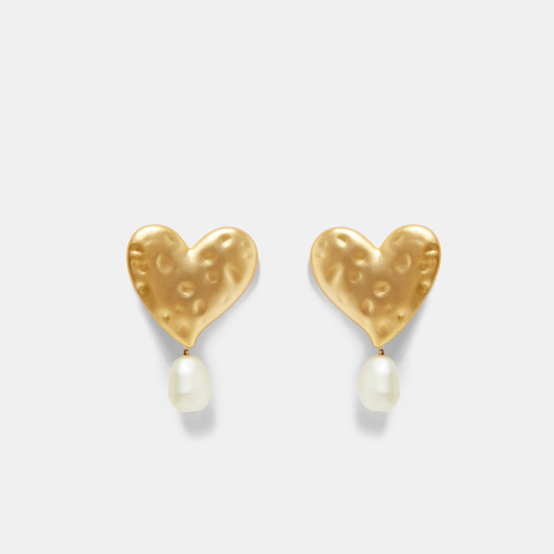 High-quality-ZA-Simulated-Pearl-Drop-Dangle-Earrings-Women-Large-Metal-Heart-Statement-Earrings-Valentine-Gift