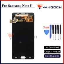 100% Оригинальные vangoch ЖК-дисплей Экран для Samsung Galaxy Note 5 N9200 N920G Сенсорный экран планшета Ассамблеи Замена Бесплатная доставка