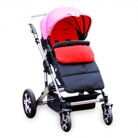 Infant Stroller Footmuff Windproof Babies Sleeping Bag Cold Proof Stroller Mat Foot Cover Baby Kids Strollers