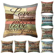 11.11 Bar Retro Flannel Pillowcase Cover Home Garden Home Textile Flower Drawing Pillow Case