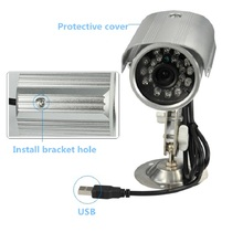 zk10 Outdoor night vision Waterproof cctv security camera DVR PIR video record camera,intellgent SD card camera motion detected
