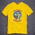 Los hombres de Moda Camisa 2016 LOS POLLOS Hermanos Breaking Bad T camisa de Pollo Hermanos Corto Manga Camiseta Inconformista Venta Caliente Tops S-5XL
