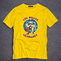 Men's Fashion Breaking Bad Shirt 2016 LOS POLLOS Hermanos T Shirt Chicken Brothers Short Sleeve Tee Hipster Hot Sale Tops S-5XL