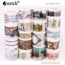 Free Shipping washi tape,Anrich tape #8605-8679,English,written English,customizable