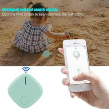Bluetooth 4.0 Smart Anti-Lost Wallet Key Finder with Selfie for IOS & Android Locator Alarm Anti-Lost Keychain(China)