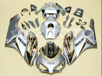 ACE KITS New ABS Injection Fairings Kit Fit For HONDA CBR1000RR 2004 2005 CBR1000RR 04 05 Silver F82