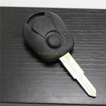 цена на PINECONE Key Case for SSANG YONG ACTYON REXTON KYRON CHAIRMAN Car Key 2 Buttons Blank Blade Key Shell Cover 1PC
