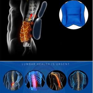 Image 2 - Подушка безопасности для поддержки спины, удобный бандаж для спины и плеч для мужчин и женщин, медицинское устройство для послеоперационного перелома, 1 комплект