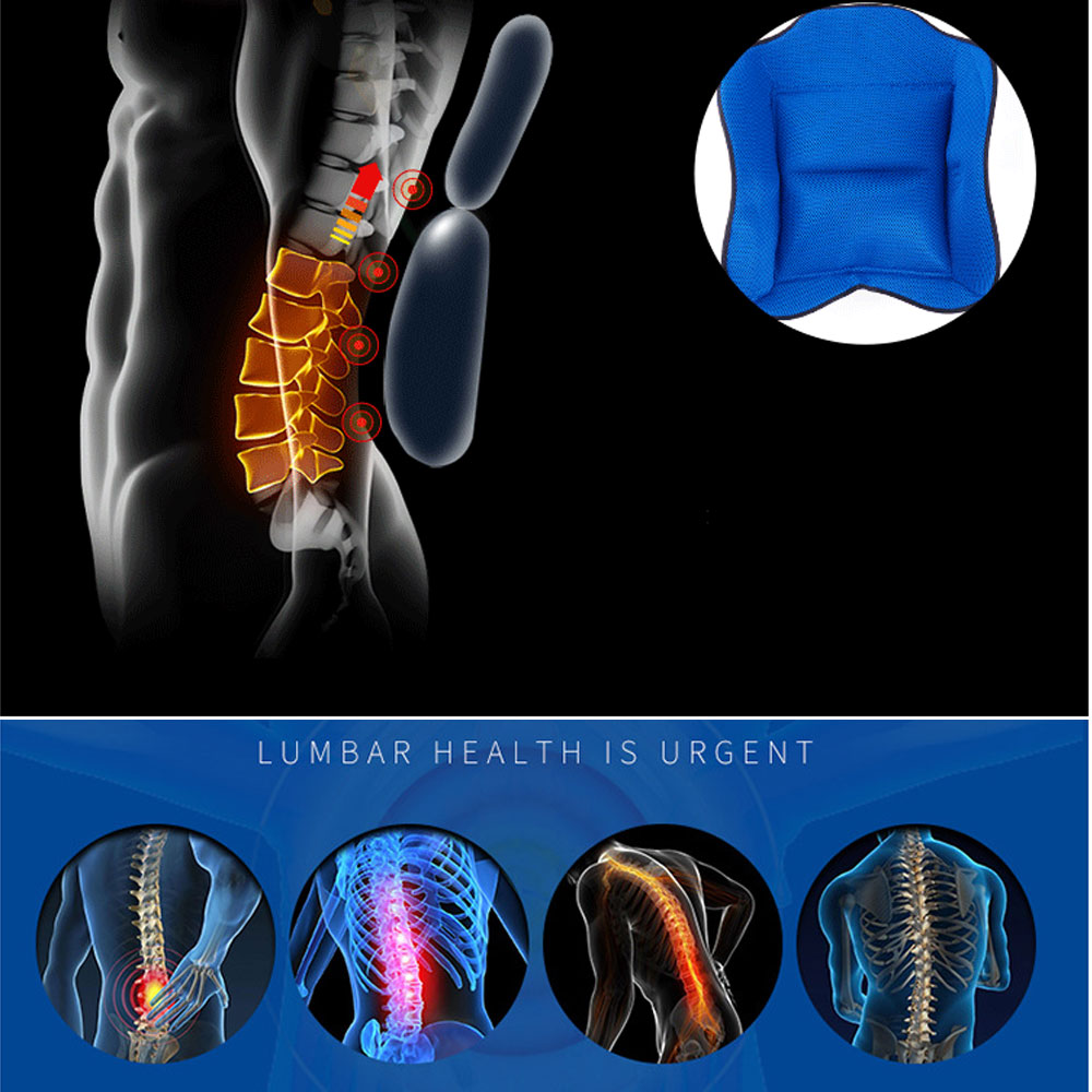 Image 2 - 1Set Airbag Back Support Comfortable Back and Shoulder Brace for Men and Women   Medical Device Fracture Postoperative-in Braces & Supports from Beauty & Health