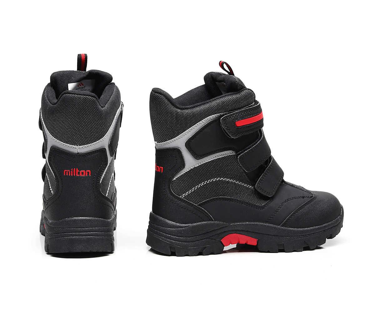 be6ae42a6 ... 2018 новые детские сапоги зимние детские ботинки снега Водонепроницаемый  противоскольжения мальчик сапоги теплые зимние ботинки для ...
