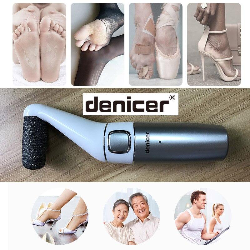Leistungsstarke Elektrische Fußpflege Werkzeug Wiederaufladbare Fuß Harte Dry Dead Skin Peeling Datei Fußpflege Kallus-entferner Pediküre Maschine
