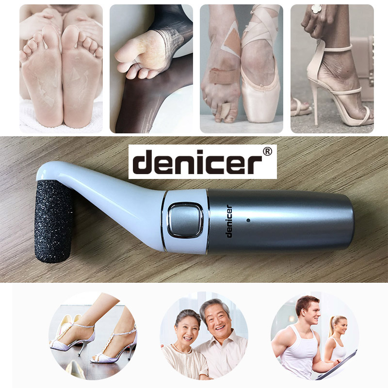 Powerful Electric Foot Care Tool Rechargeable Foot Hard Dry Dead Skin Peeling File Foot Care Callus Remover Pedicure Machine