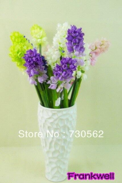 Modern Fashion Countertop Ceramic White Vase Flower Hyacinty