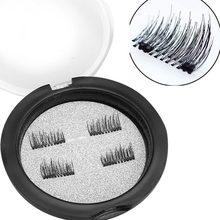 3D Magnetic False Eyelashes Natural Eye Lashes Extension 4Pcs/2Pair