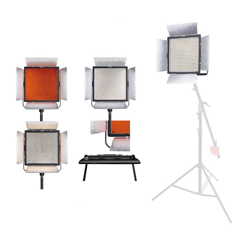 YONGNUO YN900 II 3200 K-5500 K éclairage de LED équipé de support en forme de U lumière de 360 degrés pour le maquillage professionnel de lampe de photographie