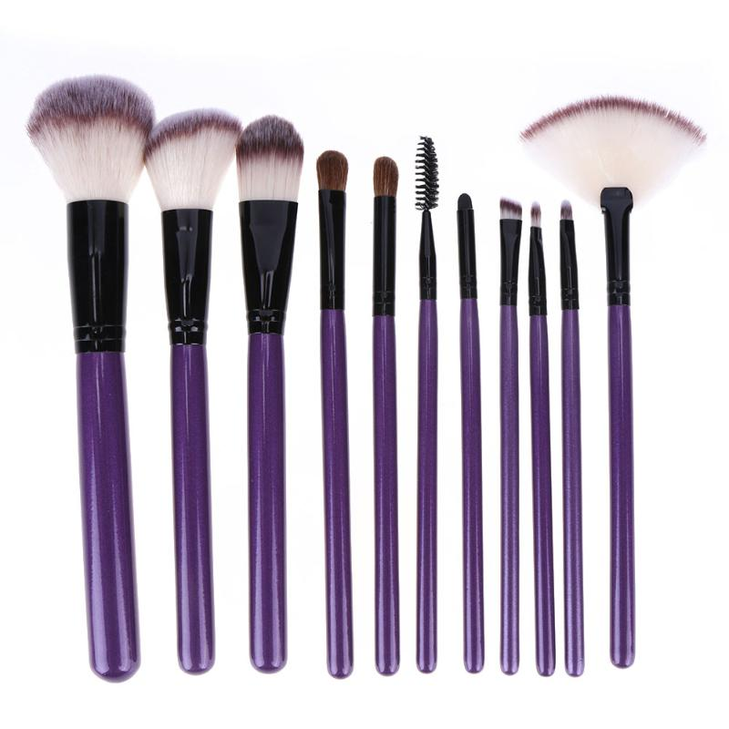 12pcs Makeup Brushes Set High Quality Soft Synthetic Hair Nature Bristles Professional Makeup Artist Brushes Tools Kit PU Bag nature explorer box set