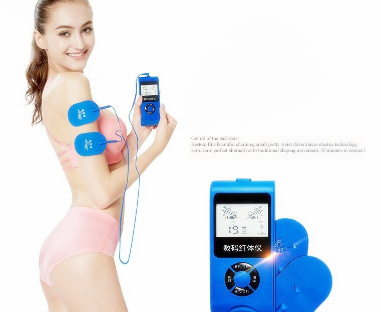 Healthsweet Vibrating Relaxing Electric Muscle Massager Anti Cellulite Gymnic Stimulator Toner Gym Slimming Body Therapy Machine