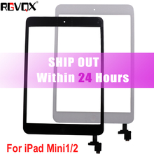Original For iPad Mini 1 A1432 A1454 A1455 Mini 2 A1489 A1490 A1491 Touch Screen TP IC with Home Button Adhesive стоимость