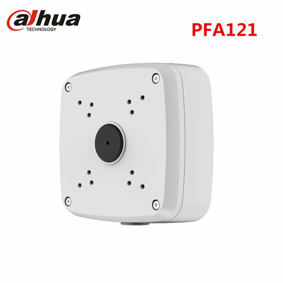 Dahua Aluminum Material Water-proof CCTV Junction Box Bracket Mount PFA121 For IP bullet Camera housing Accessories cctv camera housing aluminum alloy for bullet box camera with bracket for extreme cold or warm outdoor built in heater and fan