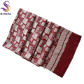 [BYSIFA]  New Winter Men Plaid Silk Scarf 160*26cm Fashion Accessories Male Brand Long Scarves Printed For Spring Autumn