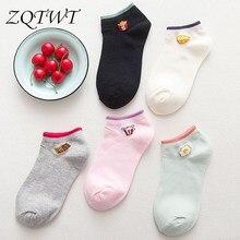 ZQTWT 5Pair/Lot 2017 Hot Sale Fashion Egg Partten Socks Lovely Women Men Unisex Cotton Casual Sock Cute Cotton Socks 3WZ019