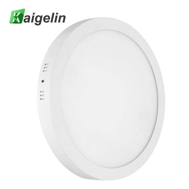 kaigelin 5 PCS/LOT LED Panel Light 6W 12W 18W 24W Round Type Ceiling Lights