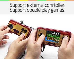 Image 3 - WOLSEN 3.0 inch Retro Portable Family Pocket Game Player RS 20A 8 Bit Mini Console Video game consoleBuilt in 638 Game Best Gift
