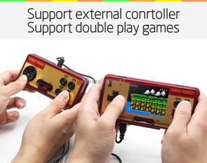 Image 3 - WOLSEN 3,0 inch Retro Tragbare Familie Tasche Spiel Player RS 20A 8 Bit Mini Konsole Video spiel consoleBuilt in 638 Spiel beste Geschenk