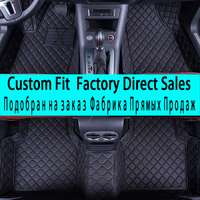 SUNNYFOX car floor mats for Mercedes Benz A C W204 W205 E W211 W212 W213 S class CLA GLC ML GLE GL rug car styling liners