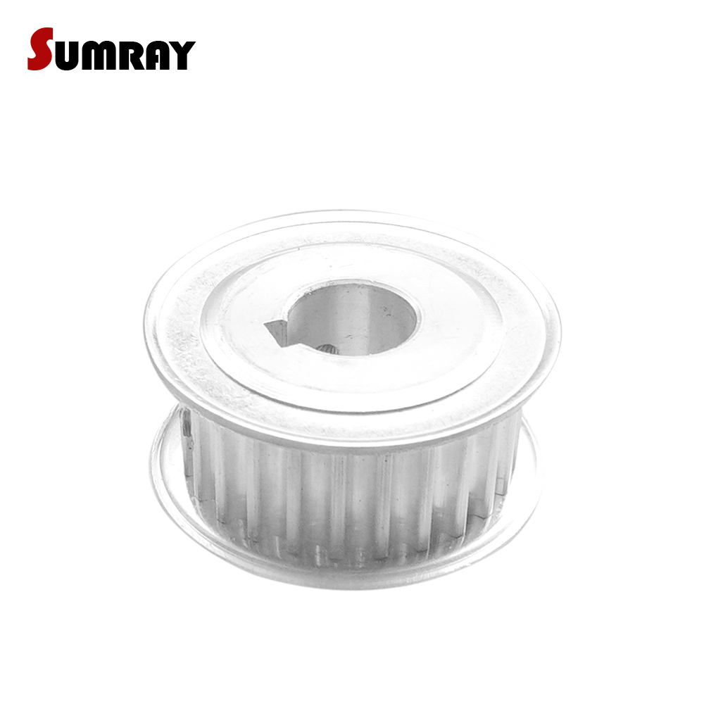 SUMRAY 5M 38T Keyway Timing Belt Pulley 24mm bore keyway diameter 8mm 32mm width CNC Belt Pulley for CNC Machine nike перчатки мужские nike rally размер 6 7