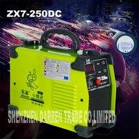 새로운 휴대용 220/380 v 듀얼 전압 igbt 인버터 용접기 ZX7-250DC 250amp 용접  용접기 철 쉘