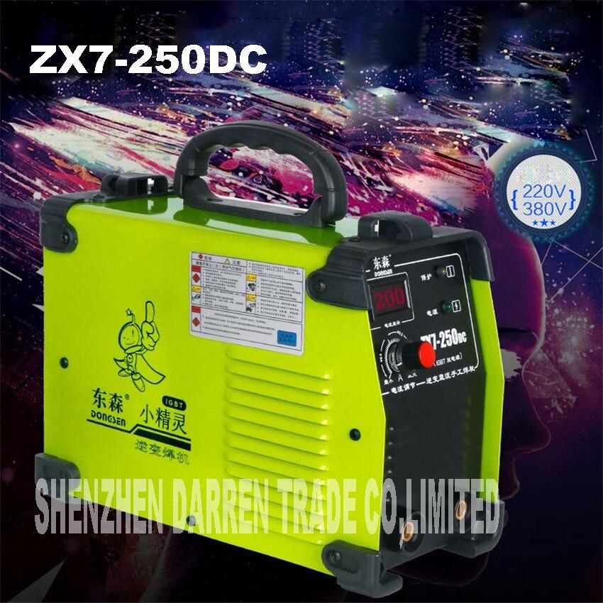 new portable 220 380 v dual voltage IGBT inverter welding machine ZX7 250DC 250Amp welding welders