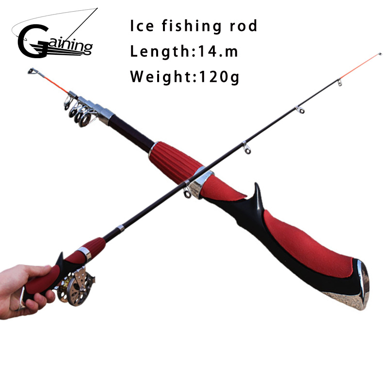 2015 new sea ice fishing rod bait fishing tackle trade for Youth fishing pole