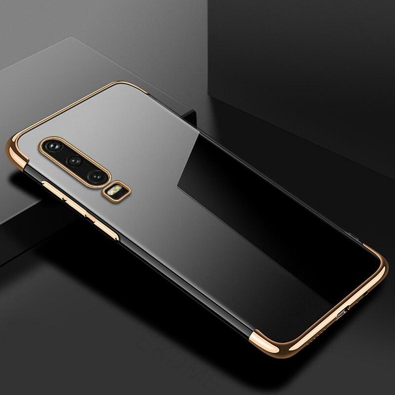 For-Huawei-P30-P20-Lite-P20-Pro-Y7-Y6-Pro-Y9-2019-Case-Soft-Silicone-Plating  YIUYI