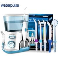 Waterpulse V300G Oral Irrigator Dental Water Flosser Water Floss 800ml Oral Hygiene Dental Flosser Water Flossing 5pcs Nozzles