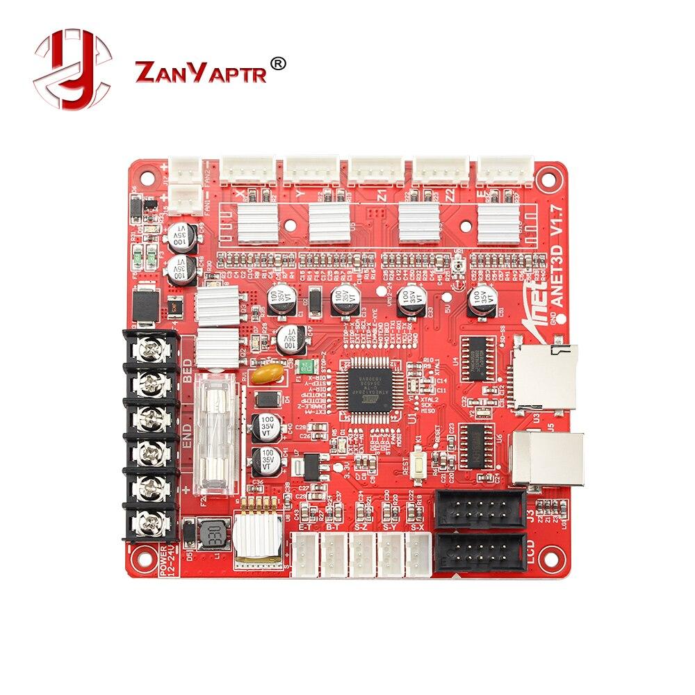 Anet A1284-Base carte mère carte mère carte mère pour Anet A6/A8 assemblage 3D imprimante de bureau RepRap Pruse i3 Kit