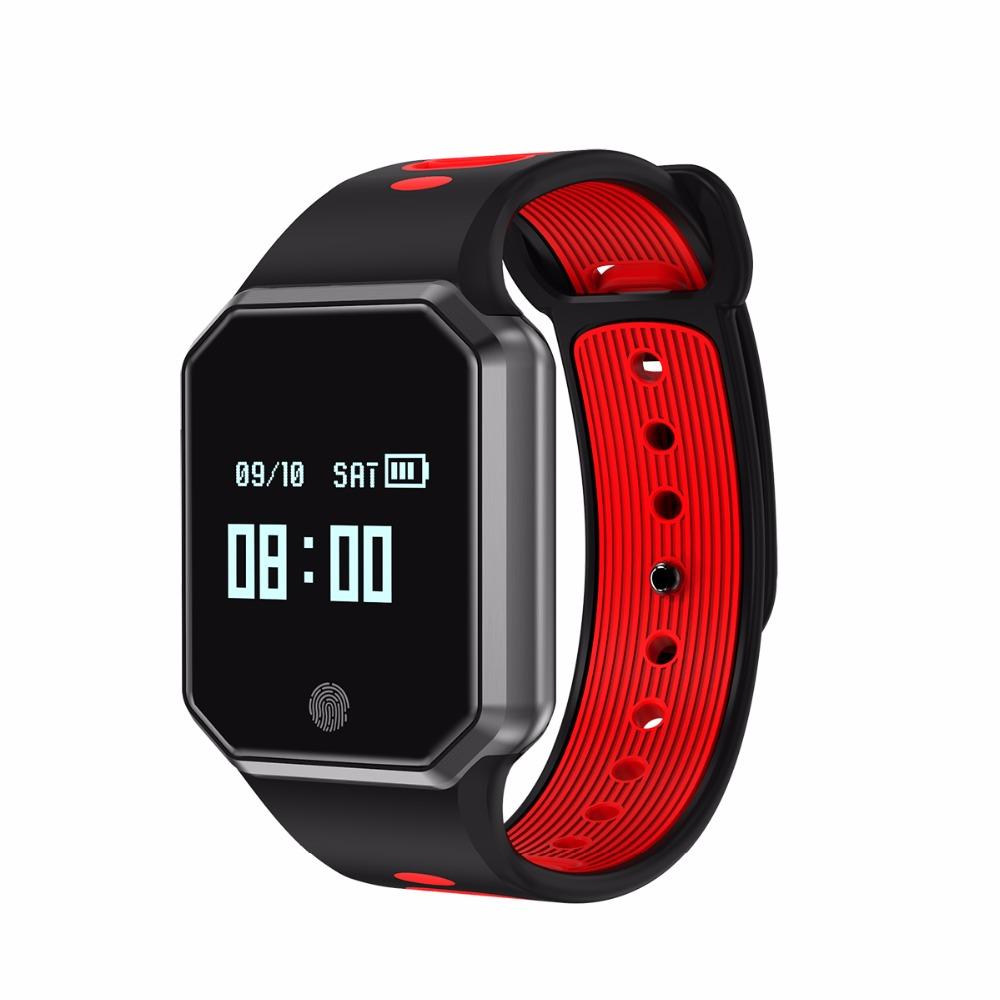 1cf2aebeda2 QW11 Popuflo Banda Inteligente pulseira Inteligente monitor de ...
