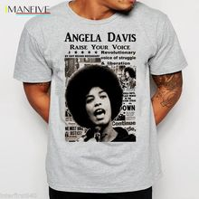 Angela Davis T-Shirt, Black History, Lives Matter, S-3XL, black panthers Short Sleeve Plus Size free shipping t-shirt