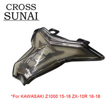Motorcycle Turn Warn Signals Rear Taillight Integrated Brake Led Light For KAWASAKI Z1000 2015 2016 2017 2018 ZX-10R 2016-2018