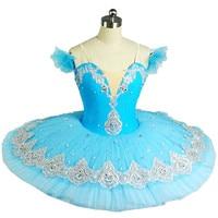 בלט מקצועי חצאיות טוטו למבוגרים ילד בגדי ריקוד בלט אגם הברבורים עבור בנות טוטו פנקייק דמות בלרינה שמלת החלקה
