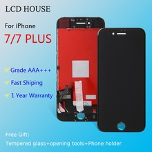 цены на Grade AAA Screen For Apple iPhone 7 7plus LCD Display Touch Screen Assembly With Digitizer Glass No Dead Pixel Phone Parts  в интернет-магазинах